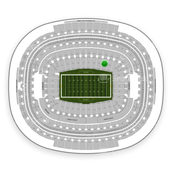 Washington Redskins at FedEx Field Section 125 View