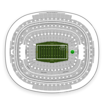 Washington Redskins at FedEx Field Section 132 View