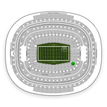 Washington Redskins at FedEx Field Section 135 View