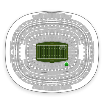 Washington Redskins at FedEx Field Section 138 View