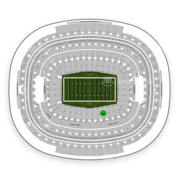 Washington Redskins at FedEx Field Section 140 View