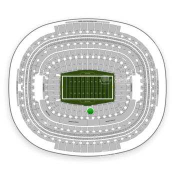Washington Redskins at FedEx Field Section 142 View