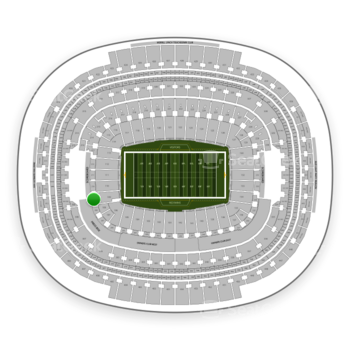 Washington Redskins at FedEx Field Section 209 View