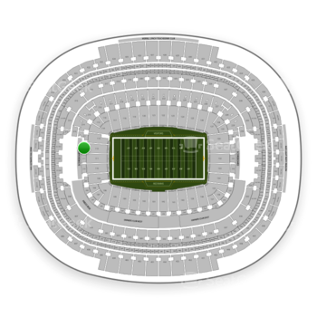 Washington Redskins at FedEx Field Section 212 View