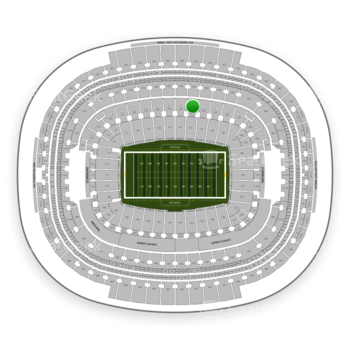 Washington Redskins at FedEx Field Section 223 View