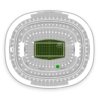 Washington Redskins at FedEx Field Section 240 View
