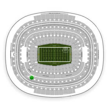 Washington Redskins at FedEx Field Section 306 View