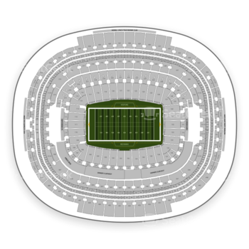 Washington Redskins at FedEx Field Section 312 View