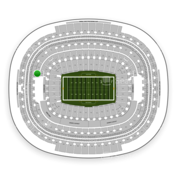 Washington Redskins at FedEx Field Section 313 View