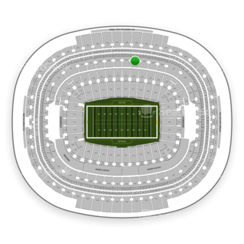 Washington Redskins at FedEx Field Section 323 View