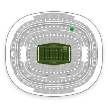 Washington Redskins at FedEx Field Section 326 View