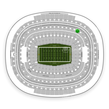 Washington Redskins at FedEx Field Section 327 View