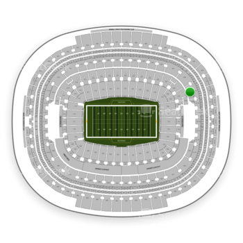 Washington Redskins at FedEx Field Section 329 View