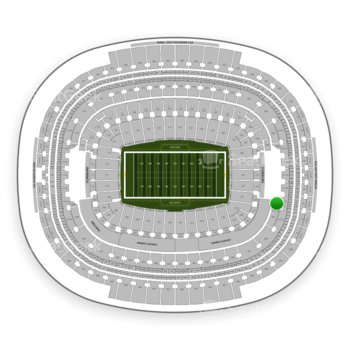 Washington Redskins at FedEx Field Section 334 View