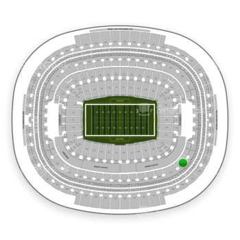 Washington Redskins at FedEx Field Section 336 View