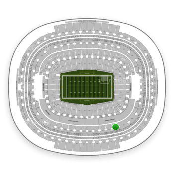 Washington Redskins at FedEx Field Section 338 View