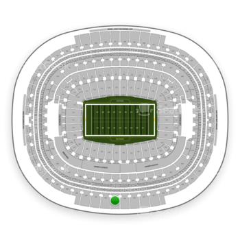 Washington Redskins at FedEx Field Section 401 View
