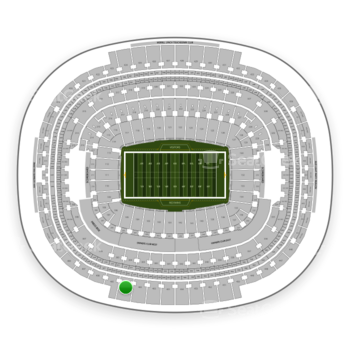 Washington Redskins at FedEx Field Section 404 View