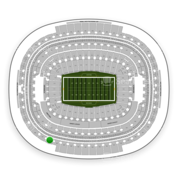 Washington Redskins at FedEx Field Section 406 View