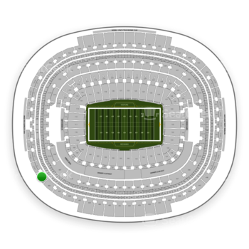 Washington Redskins at FedEx Field Section 409 View