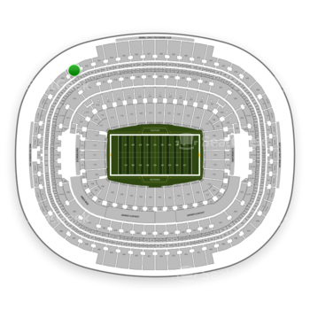 Washington Redskins at FedEx Field Section 421 View