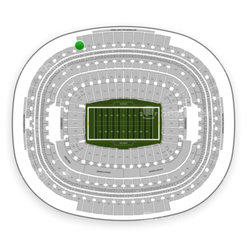 Washington Redskins at FedEx Field Section 423 View