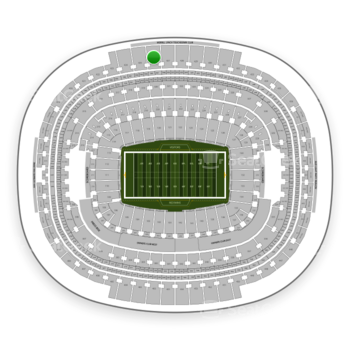 Washington Redskins at FedEx Field Section 426 View