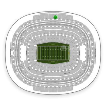 Washington Redskins at FedEx Field Section 428 View