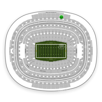 Washington Redskins at FedEx Field Section 430 View