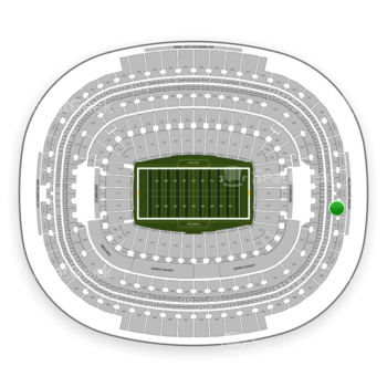 Washington Redskins at FedEx Field Section 442 View