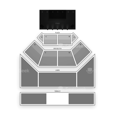 Fraze Pavilion seating chart Heart