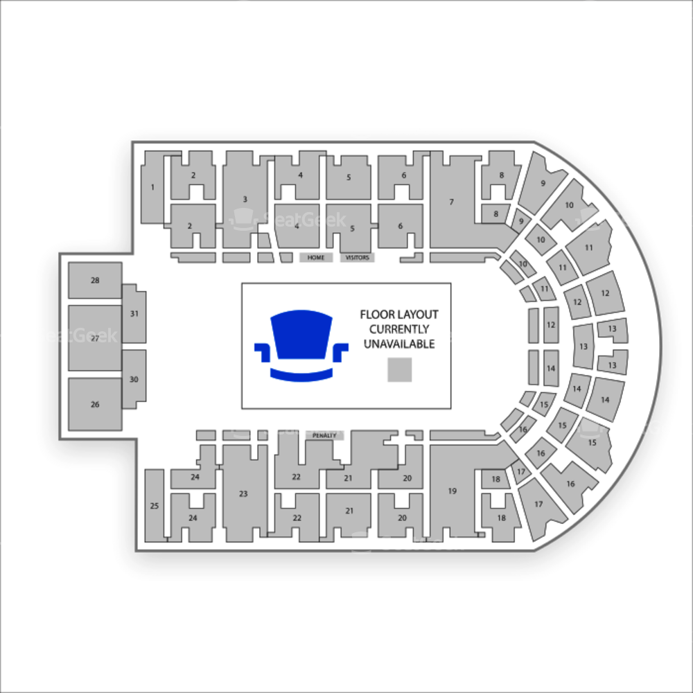 The Oncenter War Memorial Arena Seating Chart Concert