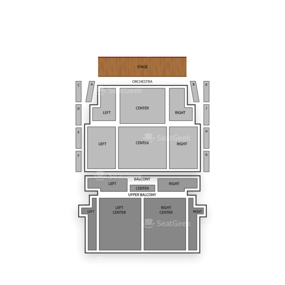 Lincoln Theatre Seating Chart Theater