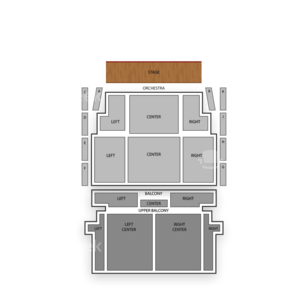 The Lincoln Theatre Seating Chart Classical Orchestral Instrumental
