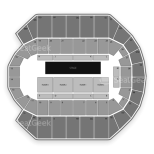 Mississippi Coast Coliseum Seating Chart Literary