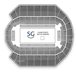 Mississippi Coast Coliseum Seating Chart Boxing