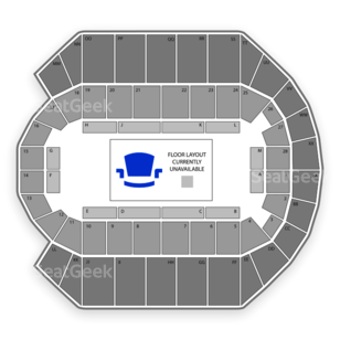 Mississippi Coast Coliseum Seating Chart Theater