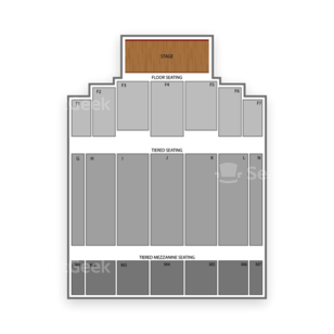 The Colosseum at Caesars Windsor Seating Chart Dance Performance Tour