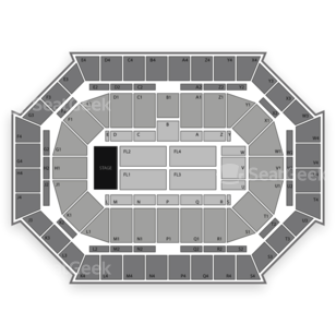 Donald L. Tucker Center Seating Chart Concert