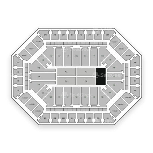 Donald L. Tucker Civic Center Seating Chart Concert