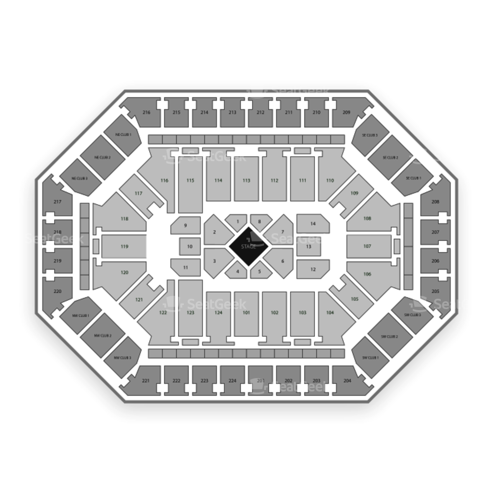 Donald L. Tucker Center Seating Chart Comedy