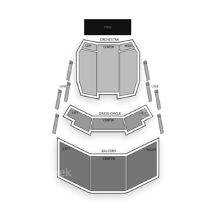 Toronto Centre for the Arts Seating Chart Dance Performance Tour