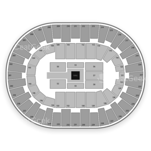 North Charleston Coliseum Seating Chart Wwe