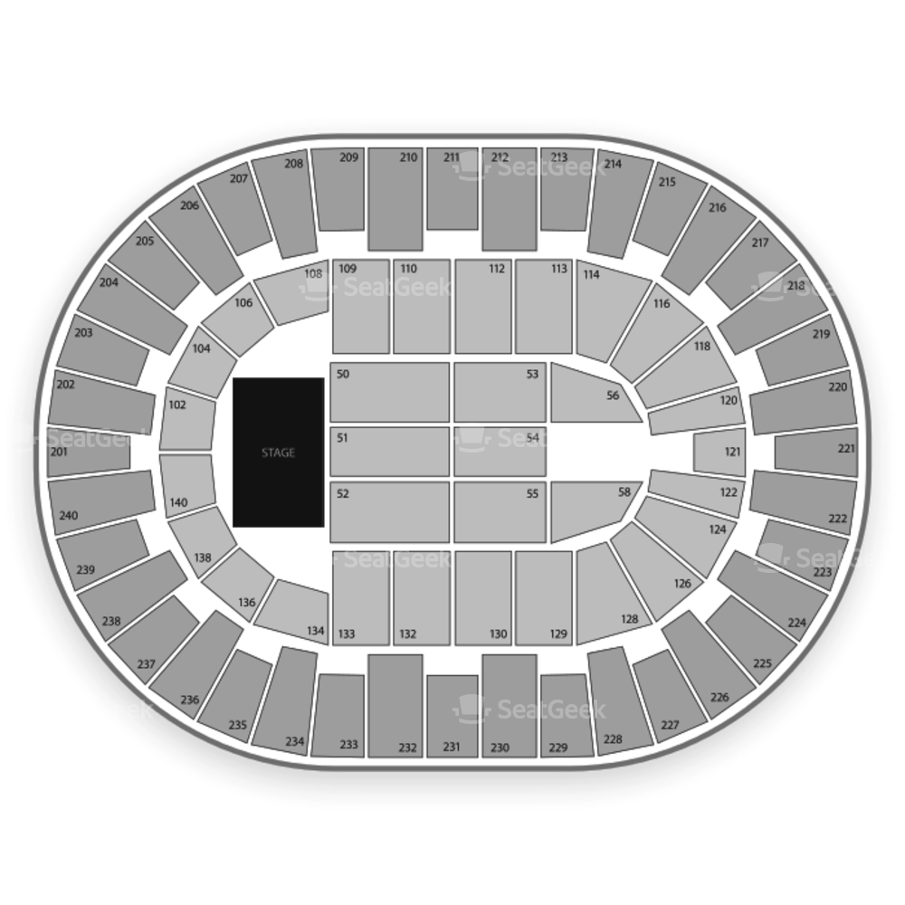 North Charleston Coliseum Seating Chart Comedy