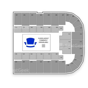 Tucson Arena Seating Chart Dance Performance Tour
