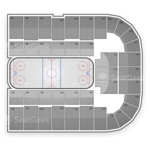 Arizona Wildcats Hockey Seating Chart
