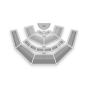 Casa Manana Seating Chart Concert