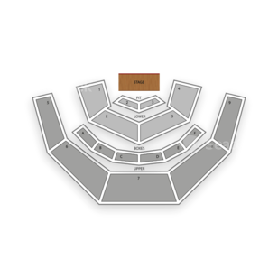 Casa Manana Seating Chart Theater
