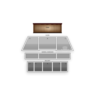 The National Seating Chart Theater
