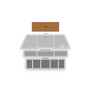 The National Seating Chart Concert